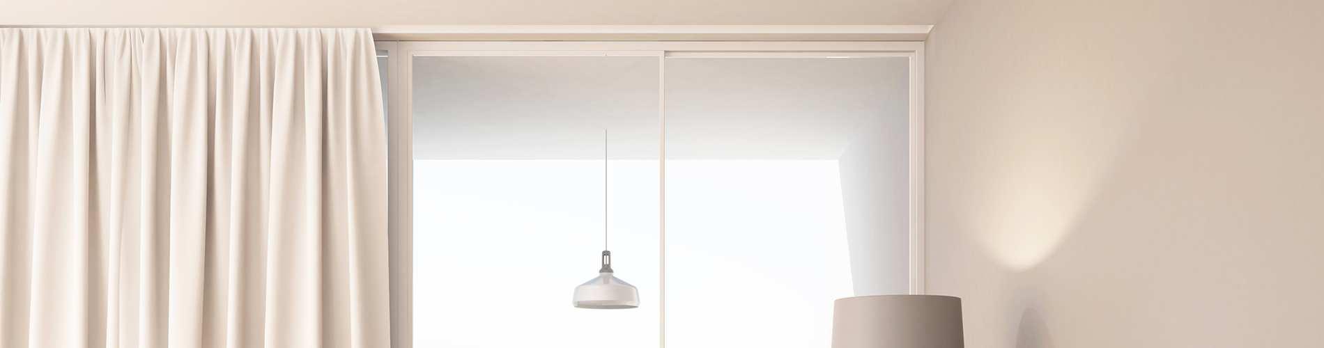 Barre Rideau Fixation Plafond 5 étapes pour accrocher une tringle à rideaux - bricofamily