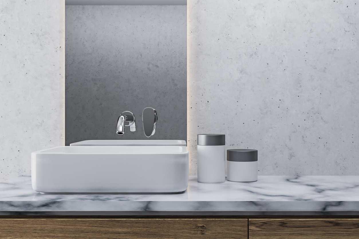 meuble sous vasque suspendu quelles pr cautions. Black Bedroom Furniture Sets. Home Design Ideas