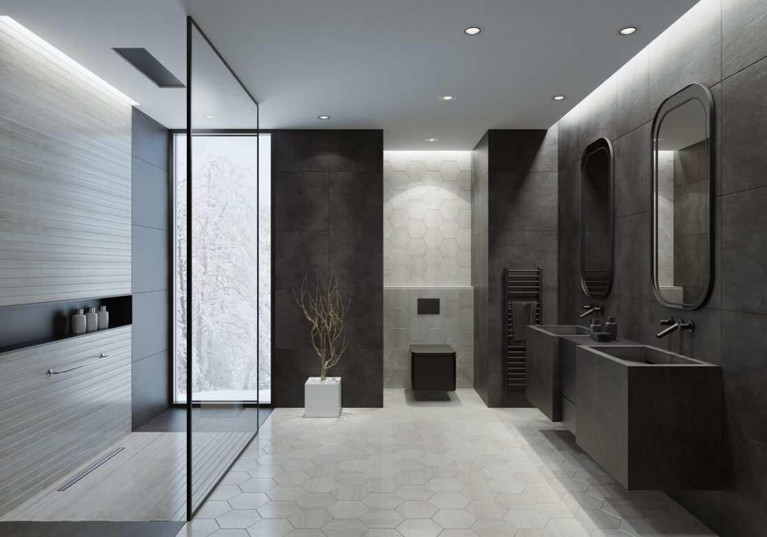 Carrelage Mural Pour Cheminée des idées pour aménager une salle de bain design - bricofamily
