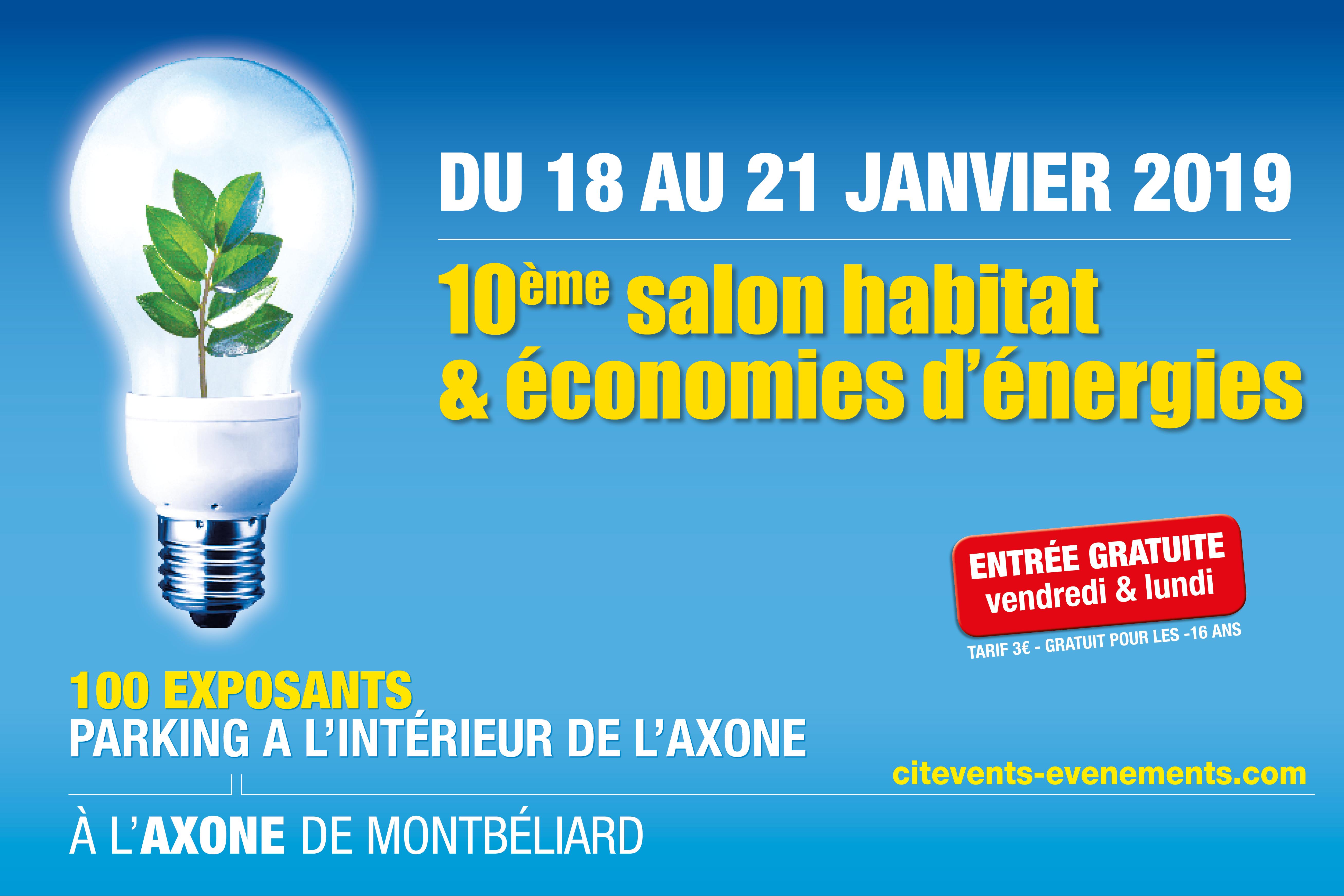 Salon Habitat & Economies d'énergie Montbéliard
