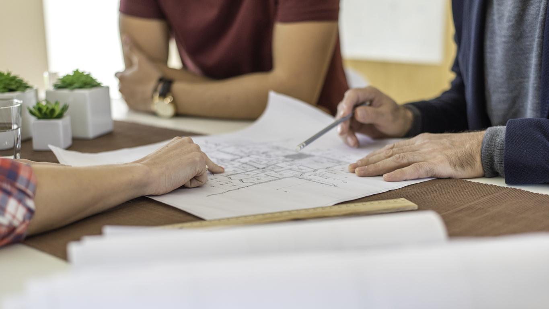 Un permis de construire nécessite d'avoir des plans précis