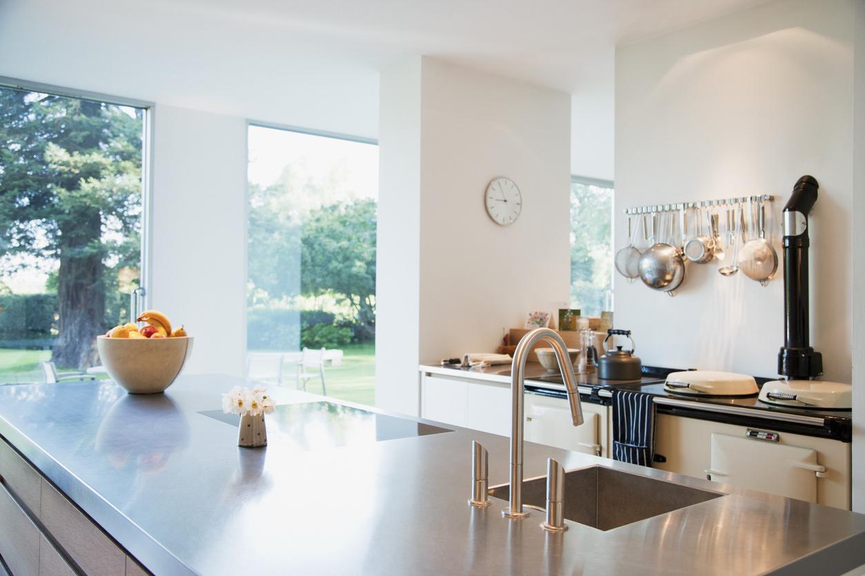Meuble De Cuisine Bois Et Metal meubles en métal ou en bois pour sa cuisine ? - bricofamily