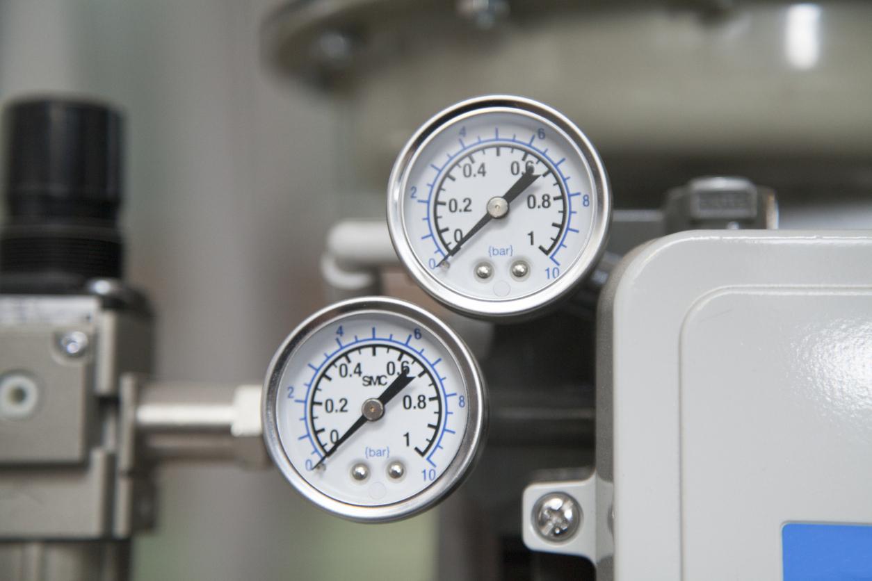 zoom sur 2 capteurs de pression