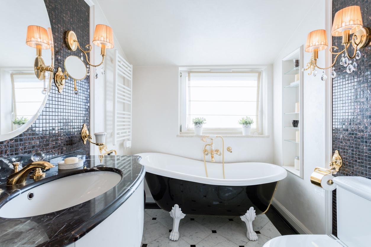 Adoptez le style baroque dans votre salle de bain