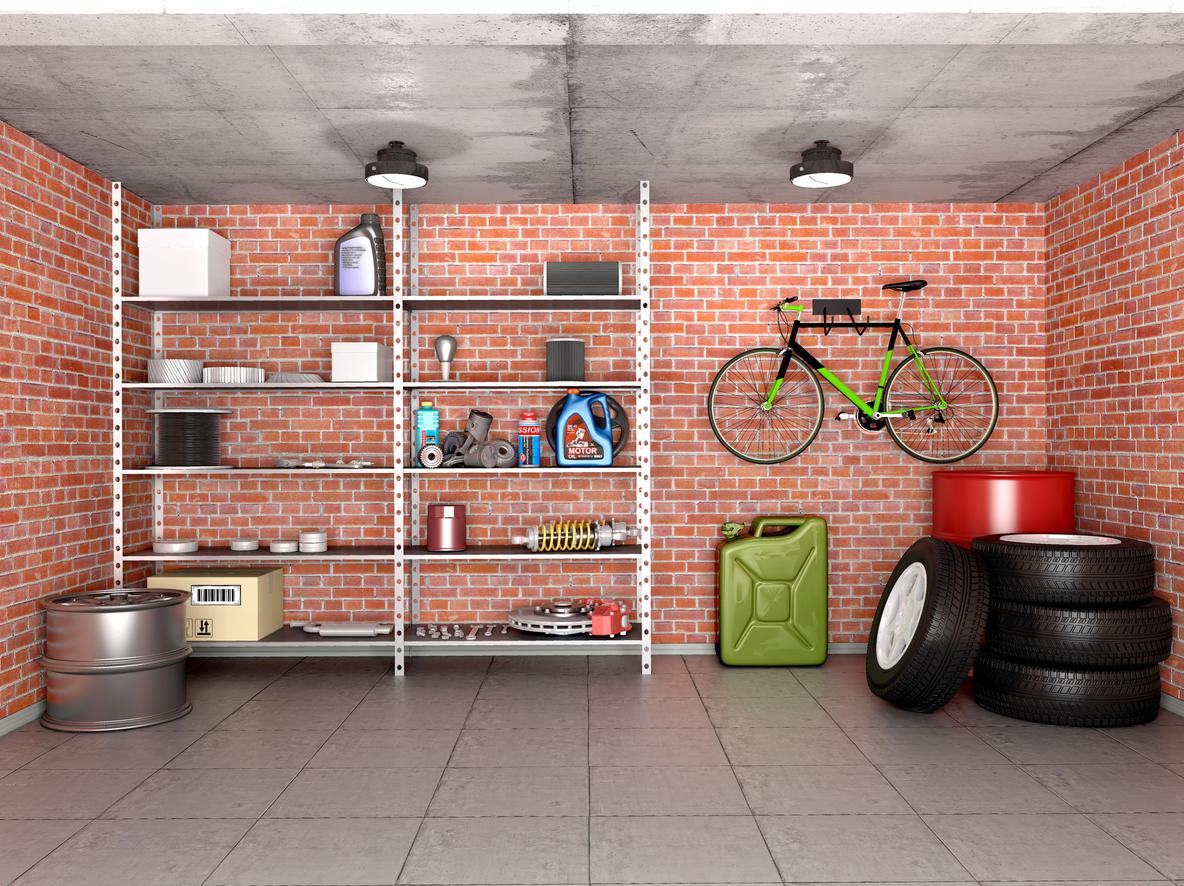Armoire ou étagère ou les deux pour un espace garage optimisé?